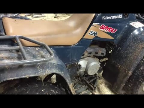 How to change Oil  Filter in a 4 wheeler ATV - YouTube