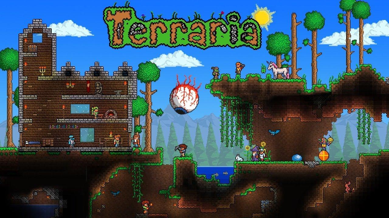 Продолжаем играть в Terraria