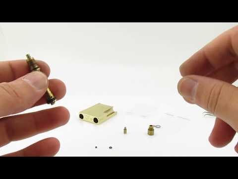 How to Service/Repair/Fix/Replace the Seals on S.T. Dupont Line/Ligne 2/Gatsby Lighter With NEW
