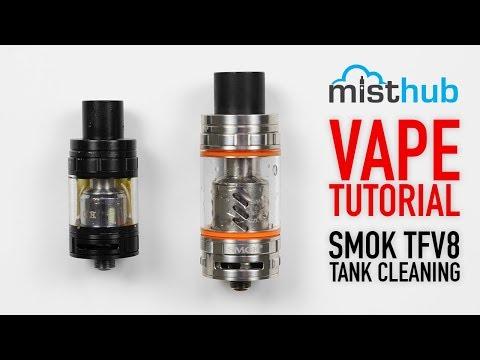 How To Clean SMOK Alien TFV8 TFV12 Series Vape Tanks