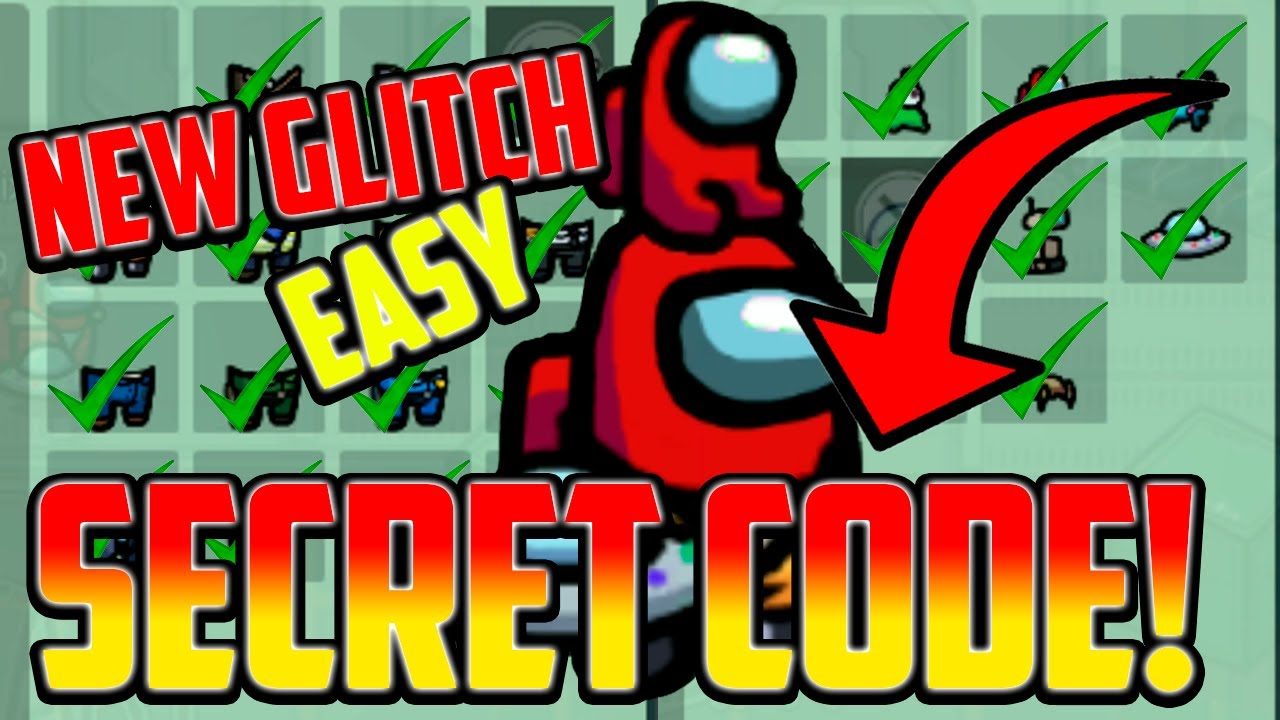 Download SECRET CODE to GET ALL SKINS, PETS & HATS in AMONG US! UNLOCK ALL (GLITCH 2021)