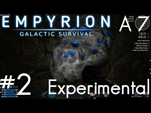 NEW MINING, TEXTURES, NEW EVERYTHING!! | Empyrion: Galactic Survival | Alpha 7 Experimental | Part 2