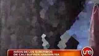 Niños de Cali sufren de hambre 15 abr. 2007