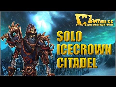 WoW - Solo Icecrown citadel (mount) CZ