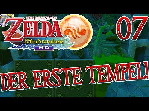 DER ERSTE TEMPEL! - THE LEGEND OF ZELDA: THE WIND WAKER HD #07 | GAMERSTIME