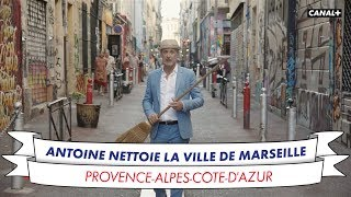 Antoine aide à nettoyer Marseille !