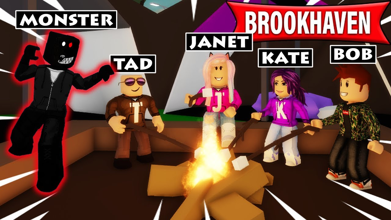 """Download Brookhaven """"Camping"""" Story! (2 Endings) 