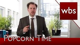 Hohe Abmahngefahr bei der Nutzung von Popcorn Time! | Rechtsanwalt Christian Solmecke