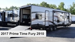 Video 2017 Prime Time Fury 2910 | Toy Hauler Travel Trailer download MP3, 3GP, MP4, WEBM, AVI, FLV Mei 2018