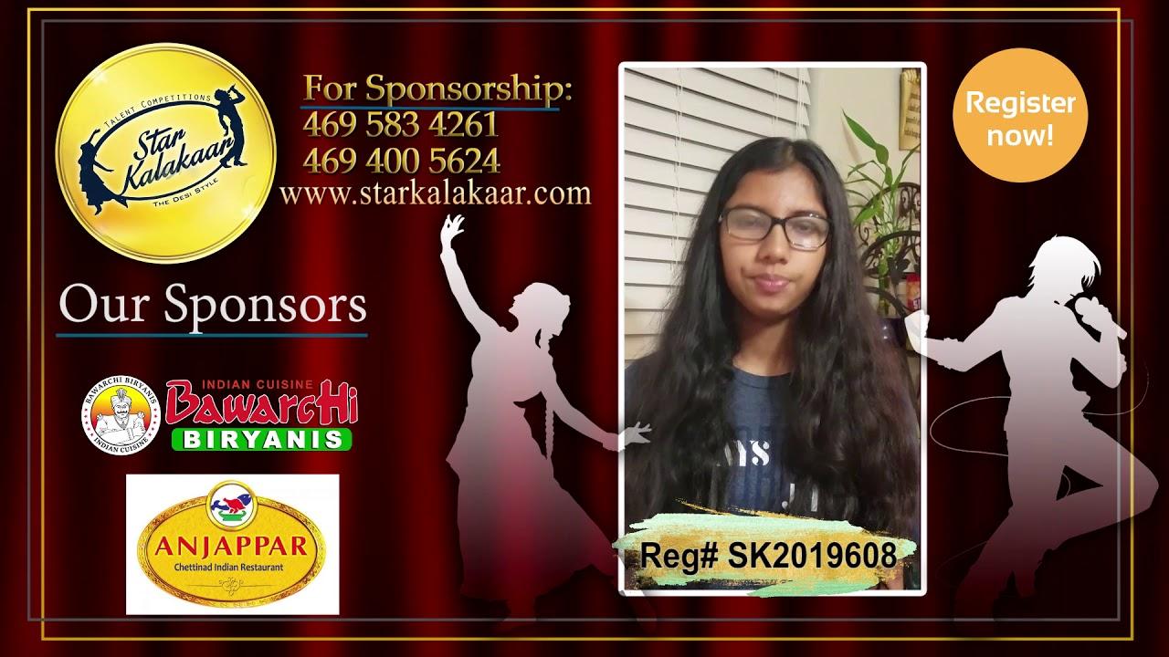 Registration NO - SK2019608 - Introduction Videos StarKalakaar-2019 #SK2019