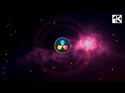 Logo Glitch Flash 4K DaVinci Resolve Templates
