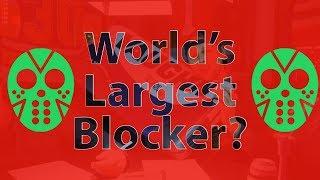 World's Largest Blocker & Hockey Stick Creations | Road To Minnesota (VLOG)
