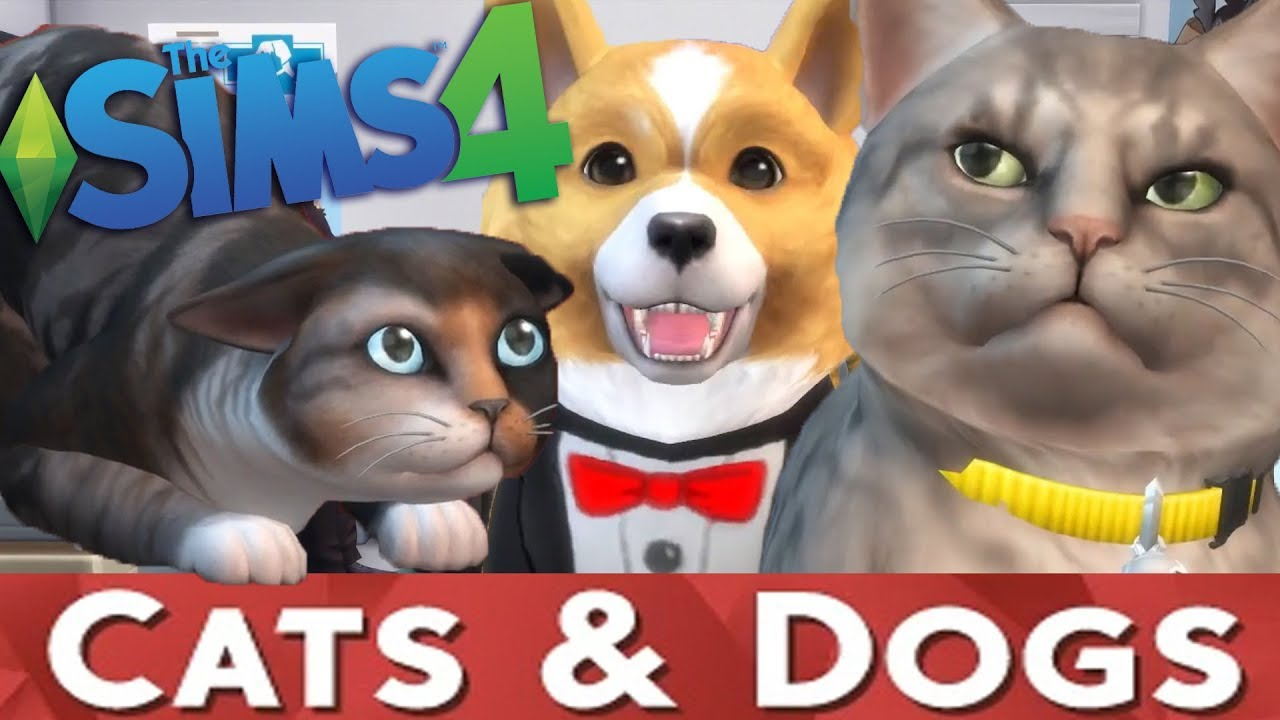 Sims Cat And Dog Pack