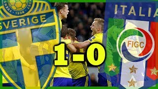 Sverige VS Italien 1-0 | Bragden på FRIENDS!