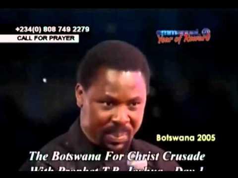 Botswana Crusade For Christ 2005 with TB Joshua Day 1
