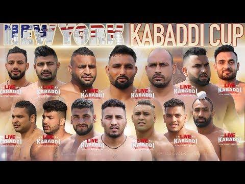 LIVE KABADDI - New York Kabaddi Cup 2018