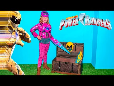 Thumbnail: SABAN POWER RANGERS Assistant Morphs into Pink and Yellow Rangers Toys Unboxing