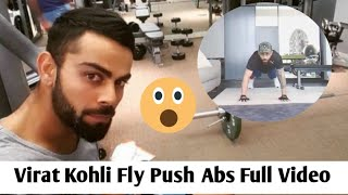 Virat Kohli Fly Push Abs At Home | Virat Kohli Fitness | OneNationhindi 2020