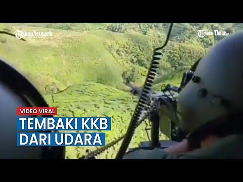 KKB Yang Kerap Menyerang TNI Di Papua Diserang Dari Udara