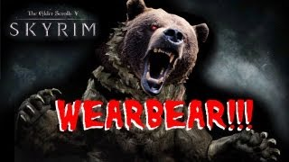 SKYRIM DragonBorn: WEARBEAR Easter EGG! Quest [HD]