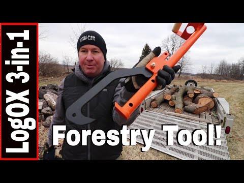 LogOX 3-IN-1 FORESTRY MULTI TOOL -TIMBERJACK, CANTHOOK, PICKAROON LOG HAULER
