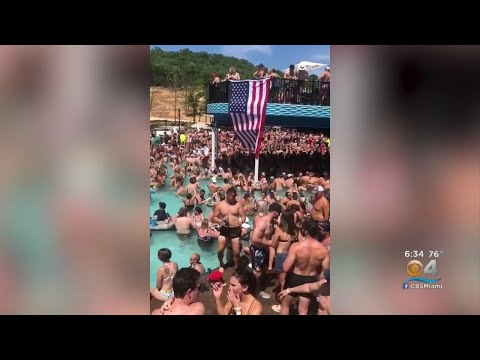 Daytona Beach Overrun By Party-Goers