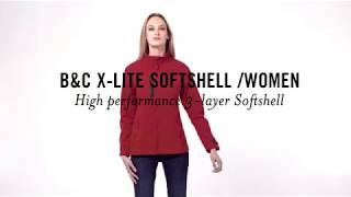 B&C X-LITE SOFTSHELL /WOMEN: JW 938
