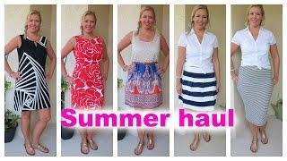 HUGE SUMMER HAUL! | FASHION OVER 40