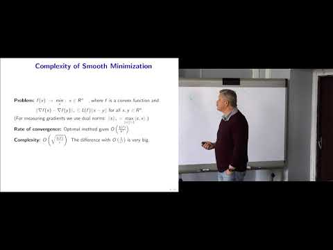 Modern Algorithmic Optimization - lec.5