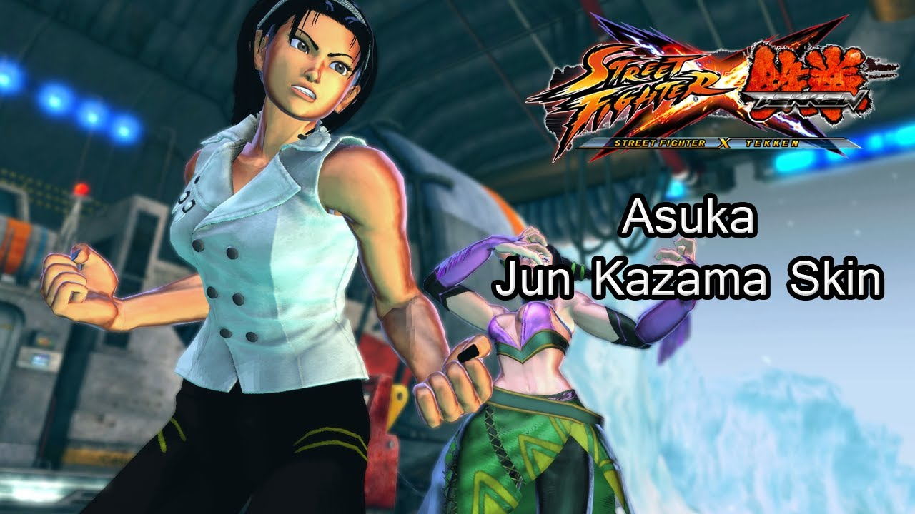 tekken kazama fighter x Street asuka