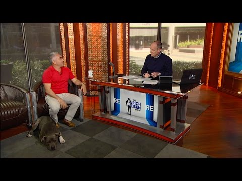 Star of Cesar 911 Cesar Millan Gives Some Dog Training Pointers in Studio - 2/23/16