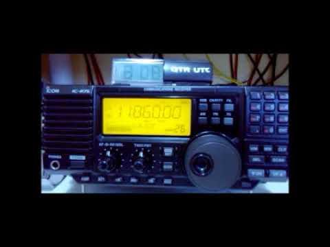 11860 kHz Republic Yemen Radio Radio Sana´a - Via Jeddah - Arábia Saudita
