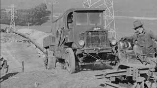 Industrial Use of Caterpillar Tractors (1926)