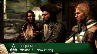 Assassin's Creed 4: Black Flag [100% Sync] Now Hiring [Sequence 3 - Mission 2]