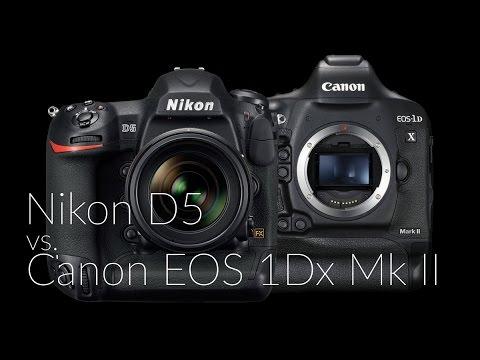 Nikon D5 vs. Canon EOS 1DX Mark II (magyar kommentárral)