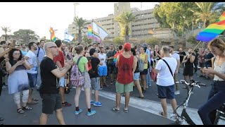הפגנות בירושלים ותל אביב של קהילת הלהט