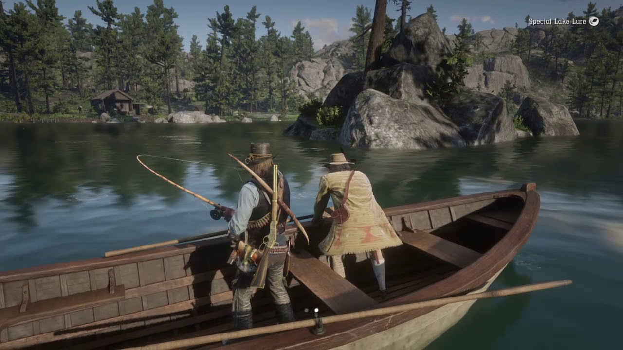 4d3294a9e913b Red Dead Redemption 2 fishing with the veteran - YouTube