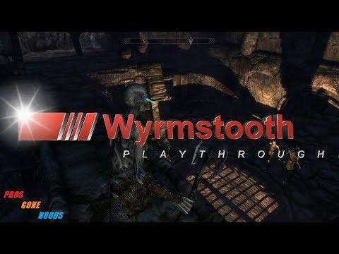 Skyrim - Wyrmstooth Playthrough Part 1 - Pros Gone Noobs - Lets R.P.G.