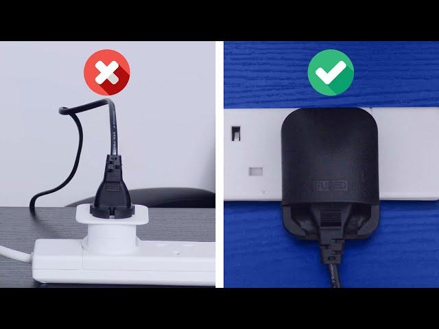 TURN EU PLUG INTO A UK PLUG (Type-F Schuko Plug)
