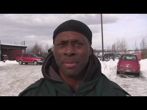 Dee is homeless in Anchorage, Alaska.