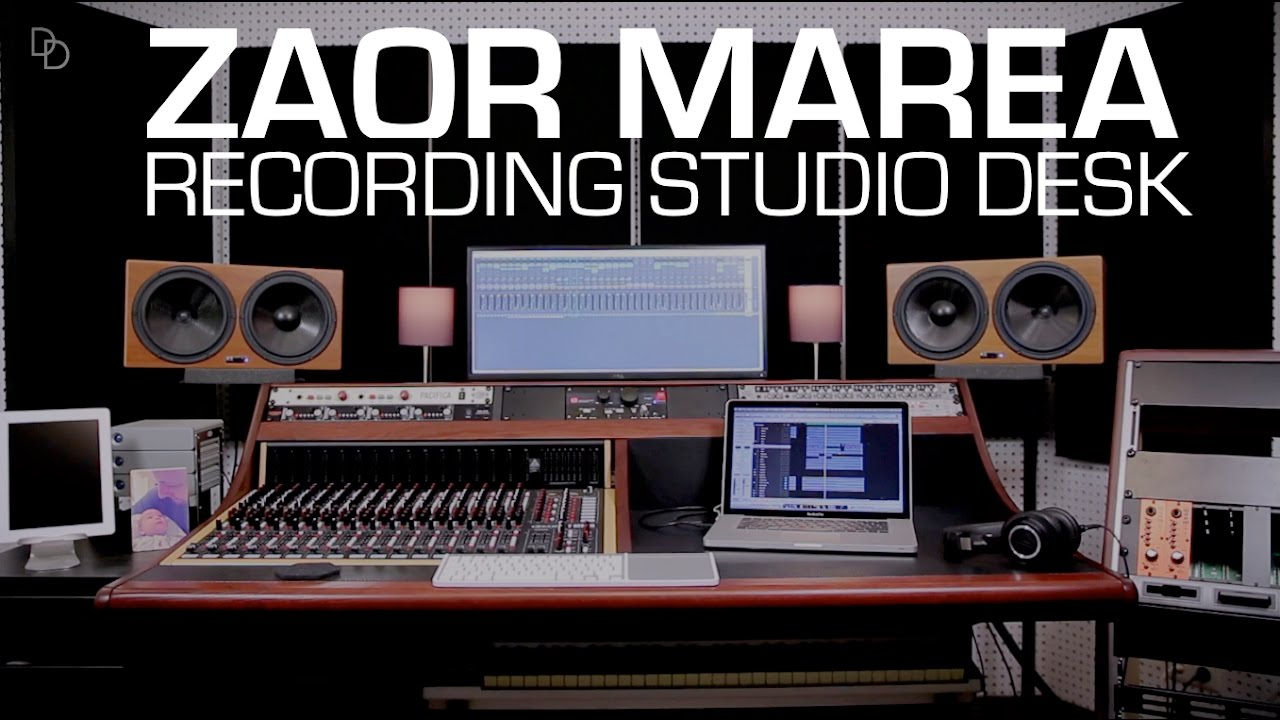 zaor marea recording studio producer desk assembly tutorial