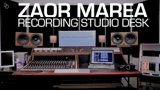 Zaor Marea recording studio producer desk assembly tutorial