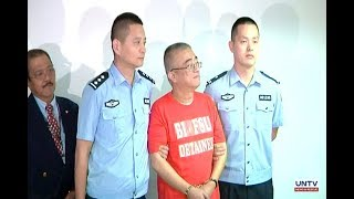 Chinese fugitive na sangkot sa economic crimes at kurapsyon sa China, iprenesenta ng mga otoridad
