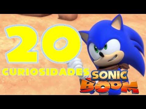 10 Curiosidades De Sonic Boom La Serie Youtube