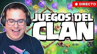 LOS JUEGOS DEL CLAN EN DIRECTO   Clash of Clans