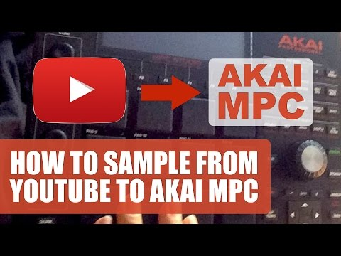 How To Sample From YouTube To Akai MPC Software On A Mac
