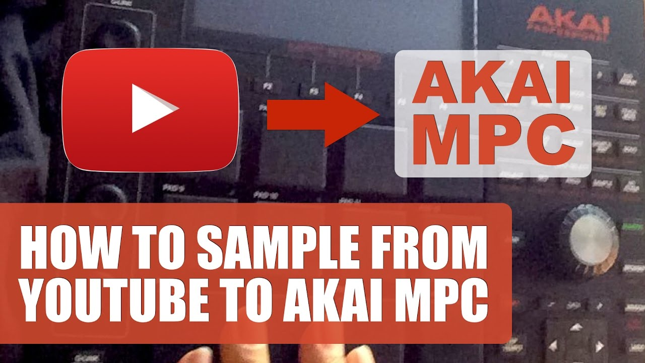 How To Sample From YouTube To Akai MPC Software On A Mac - YouTube