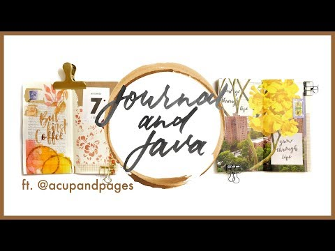 Journal and Java Ep. 2 with @ACUPANDPAGES | Journal with Me