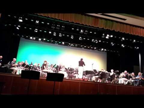 ORHS 40 Year Reunion Alumni Band - Fandango - Jose Fernandez Conducting