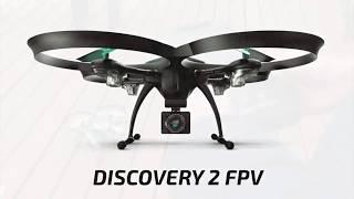 полет квадрокоптера Pilotage Discovery 2 FPV